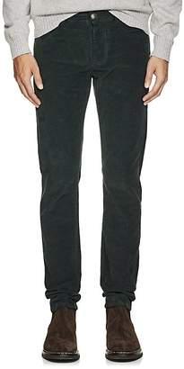Isaia Men's Cotton Corduroy Slim Trousers