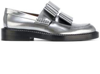 Marni bow-embellished loafers