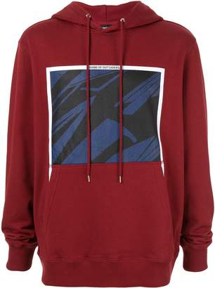 Band Of Outsiders spaceship print hoodie