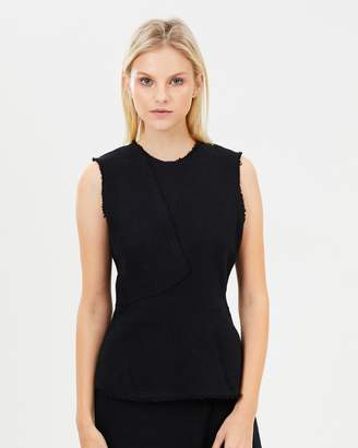 Theory Seamed Shell Top