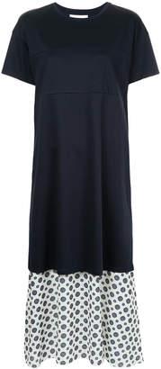 ASTRAET tiered T-shirt dress
