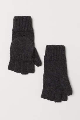 H&M Mittens/Gloves - Black
