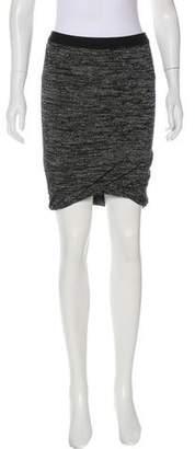Alexander Wang Ruched Knee-Length Skirt