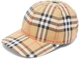 Burberry Vintage-check cotton cap
