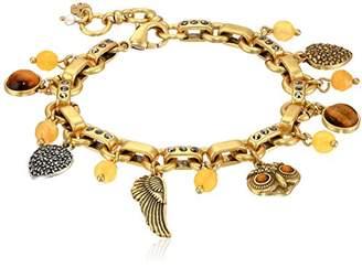 Lucky Brand Owl Charm Bracelet