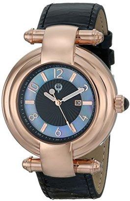 Brillier Women 's 31 – 03 Klassiqueアナログ表示クォーツブラック腕時計