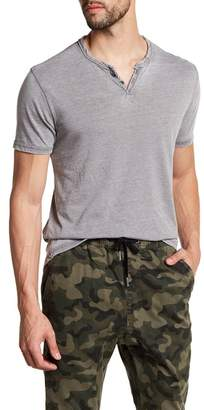 Lucky Brand Short Sleeve Solid Knit Tee