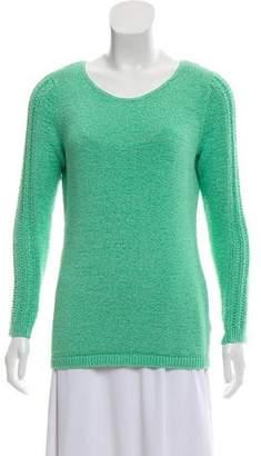 Rachel Zoe Long Sleeve Bateau Neck Sweater