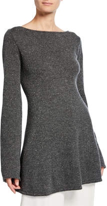 Co Cashmere Knit Boat-Neck Sweater