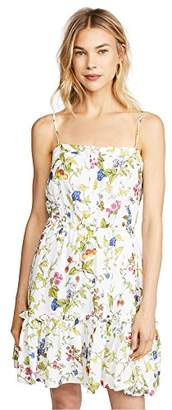 Milly Women's Floral Print on GGT Cathy Dress