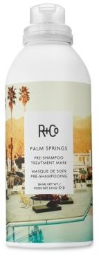 R+Co Palm Springs Pre-Shampoo Treatment Masque/5 oz. $29 thestylecure.com