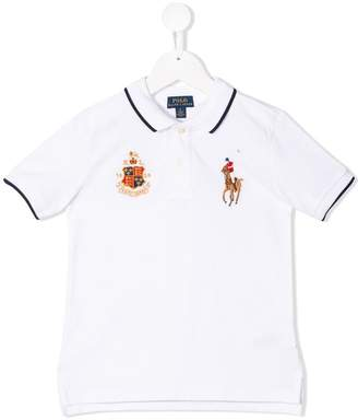 Ralph Lauren Kids logo polo shirt