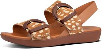 FitFlop Annelia Buckle Textured Back-Strap Sandals
