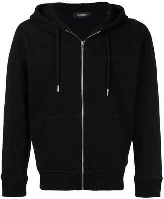 Diesel embroidered logo hoodie