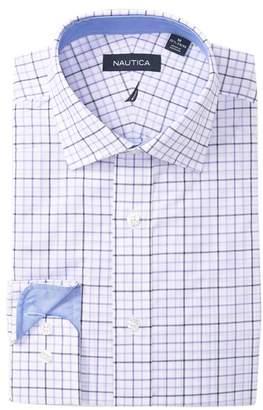 Nautica Large Tattersall Classic Fit Dress Shirt
