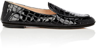 Derek Lam Women's Taylor Stamped Patent Leather Loafers $650 thestylecure.com