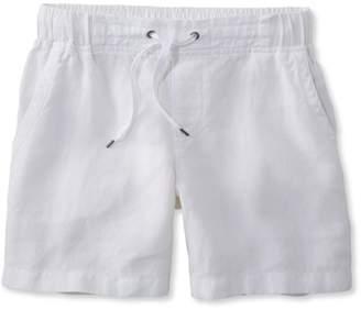 L.L. Bean L.L.Bean Premium Washable Linen Shorts