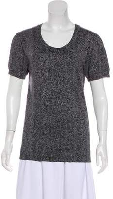 Diane von Furstenberg Manaut Short Sleeve Knit Top