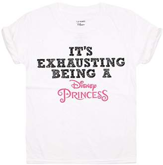Disney Princess Girl's Exhausting T-Shirt