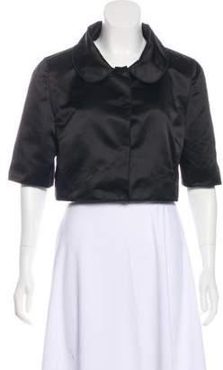 Dolce & Gabbana Cropped Silk Jacket