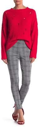 Romeo & Juliet Couture Plaid Skinny Pants