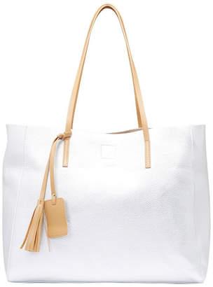 SANDLER Bobbi Bright Silver Tote Bag