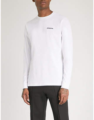 Patagonia Responsibili-tee logo-print recycled cotton-blend T-shirt
