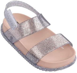 Mini Melissa Cosmic Glittered Sandal, Toddler