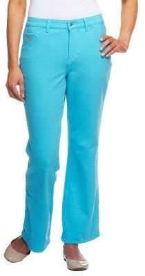 "Factory Quacker DreamJeannes"" Tall 5 Pocket Knit Denim Boot Cut Pants"