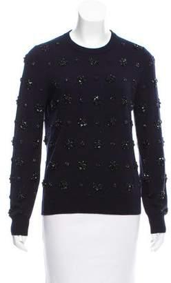 Michael Kors Cashmere Embellished Sweater