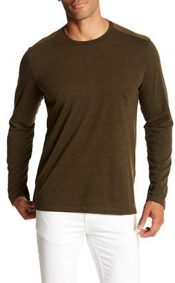 Velvet by Graham & Spencer Long Sleeve Crew Neck Tee