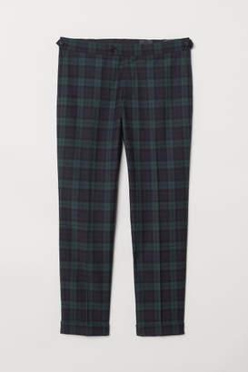 H&M Slim Fit Suit Pants - Green