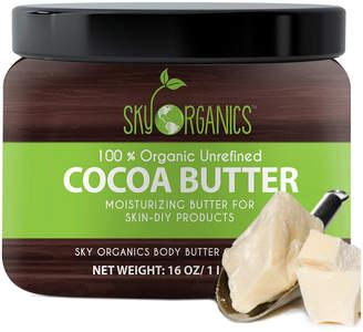 Butter Shoes Sky Organics 16Oz Organic Unrefined Cocoa Body
