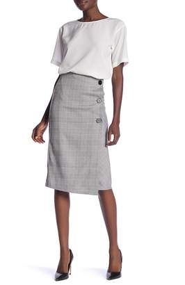 Elodie Menswear Inspired Midi Skirt