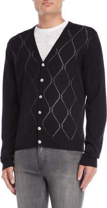 Versace Black Diamond Cardigan