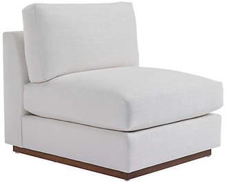 Ralph Lauren Home Desert Modern Accent Chair - Gesso Linen