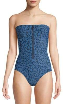 Stella McCartney One-Piece Marlin Printed Swimsuit