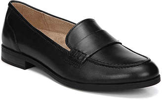 6f9ec83ae6f Suede Penny Loafer Flats Black - ShopStyle