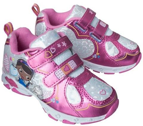 Disney Toddler Girl's Doc McStuffins Sneakers - Pink