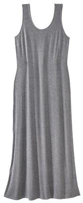 Merona Women's Plus Size Sleeveless V Neck Maxi Dress