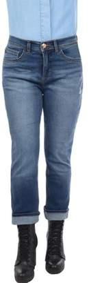 Lee Women's Easy Fit Cameron Cuffed Capri Jeans