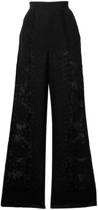Stella McCartney wide-leg lace trousers