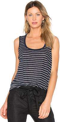 ATM Anthony Thomas Melillo Sweetheart Linen Jersey Tank