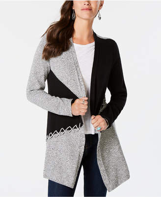 Style&Co. Style & Co Colorblocked Cardigan
