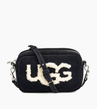 UGG Women's Janey Crossbody Sheepskin Bag
