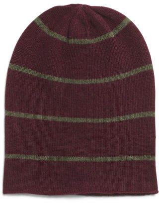 Cashmere Rapper Hat