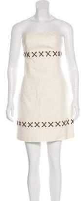 Michael Kors Strapless Mini Dress