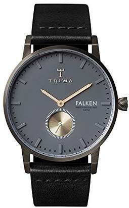 Triwa Men's Falken Leather Strap Watch