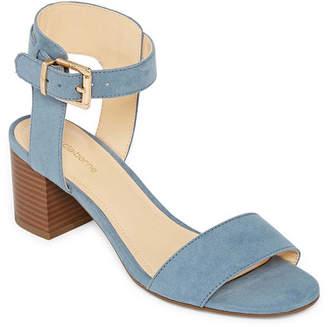 Liz Claiborne Womens Eclipse Heeled Sandals
