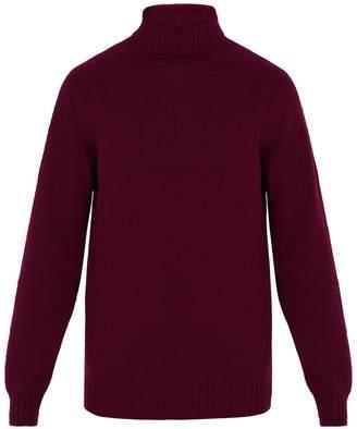 Officine Generale High-neck seamless wool sweater